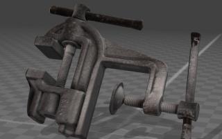 Skan 3D - imadło