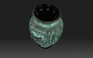 Skan 3D - grecka waza