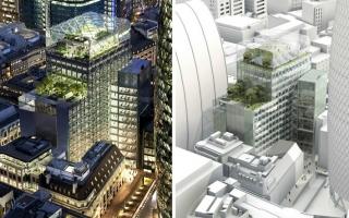 Architektura. Skanska, biurowiec w Londynie.