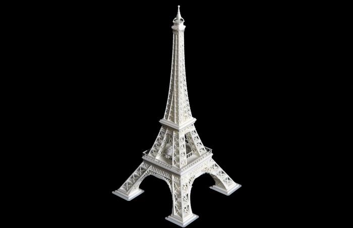 Wydruk 3D Wieża Eiffla