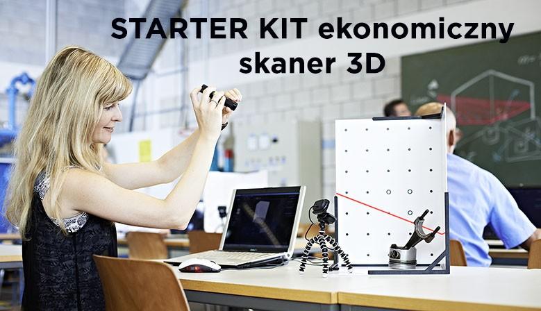 Najbardziej ekonomiczny skaner 3D